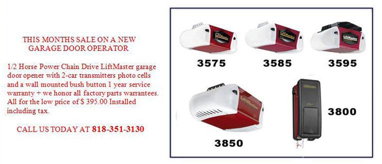 Garage Door Opener In Glendale Ca 818351 3130 New Garage Door